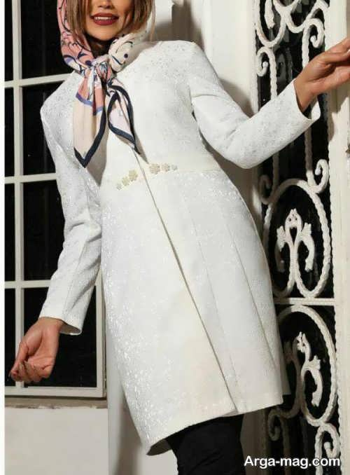 مدل مانتو سفید 2018