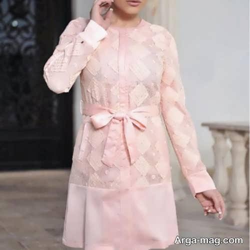 مدل مانتوی دخترانه گیپور