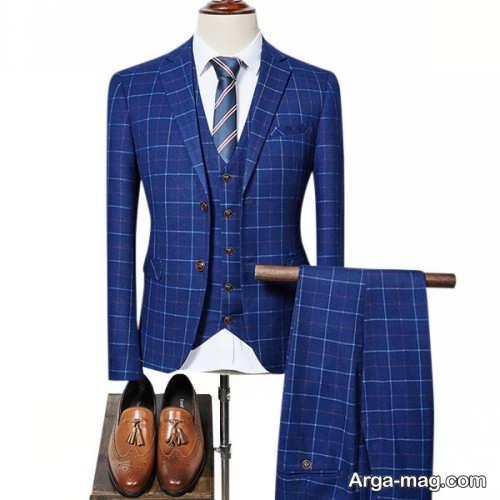 Mens suit projects 10 - اگر به کت و شلوار طرح دار علاقه مند هستید مشاهده این مدل ها را از دست ندهید