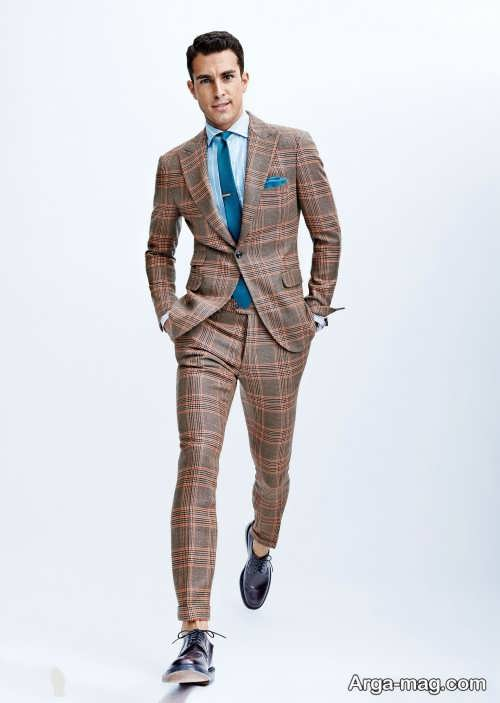 Mens suit projects 11 - اگر به کت و شلوار طرح دار علاقه مند هستید مشاهده این مدل ها را از دست ندهید