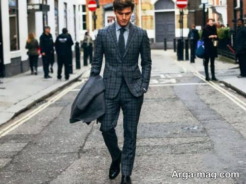 Mens suit projects 12 - اگر به کت و شلوار طرح دار علاقه مند هستید مشاهده این مدل ها را از دست ندهید