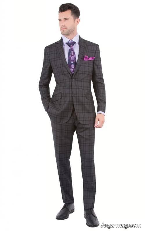 Mens suit projects 17 - اگر به کت و شلوار طرح دار علاقه مند هستید مشاهده این مدل ها را از دست ندهید