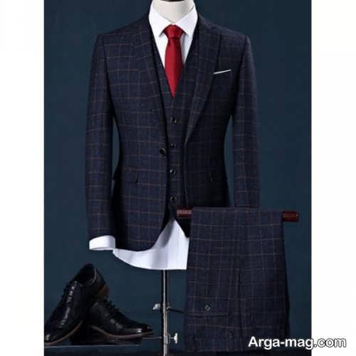 Mens suit projects 19 - اگر به کت و شلوار طرح دار علاقه مند هستید مشاهده این مدل ها را از دست ندهید