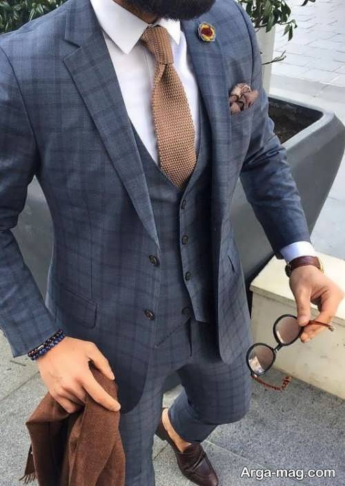 Mens suit projects 25 - اگر به کت و شلوار طرح دار علاقه مند هستید مشاهده این مدل ها را از دست ندهید