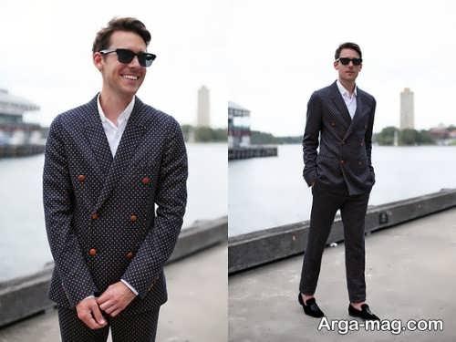 Mens suit projects 4 - اگر به کت و شلوار طرح دار علاقه مند هستید مشاهده این مدل ها را از دست ندهید