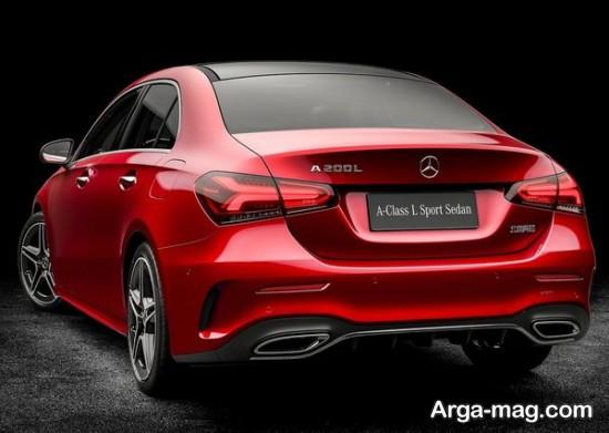 Mercedes Benz 6 - مرسدس بنز A کلاس سدان رونمایی شد