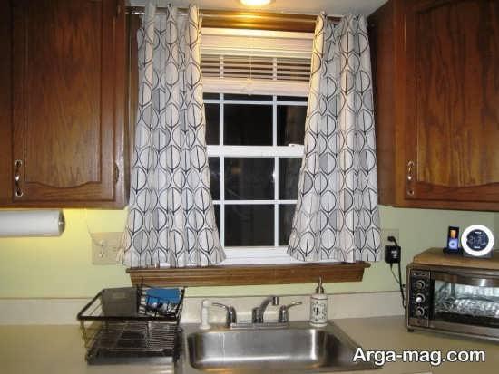 مدل پرده مدرن آشپزخانه