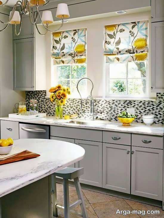 دیزاین مدرن پرده آشپزخانه
