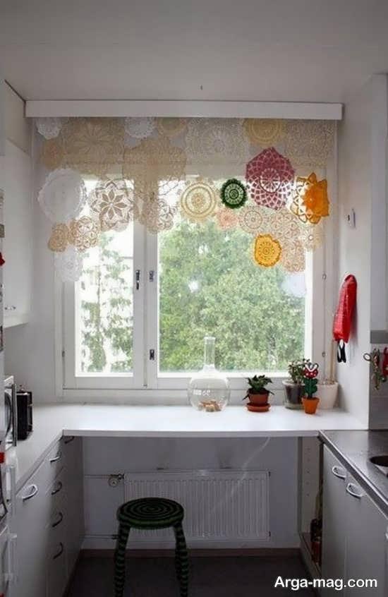 مدل پرده فانتزی برای آشپزخانه