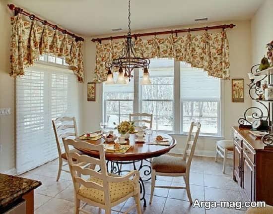 دیزاین زیبا پرده آشپزخانه