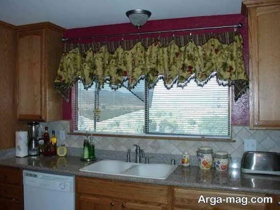 طراحی ایده آل پرده مناسب برای آشپزخانه