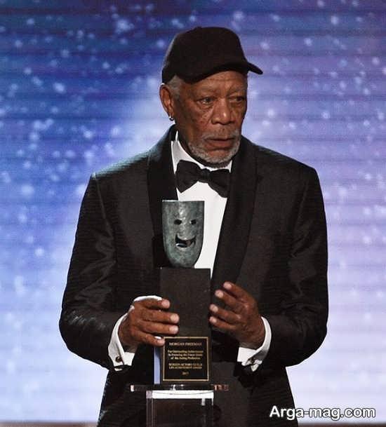 فریمن برنده جایزه اسکار