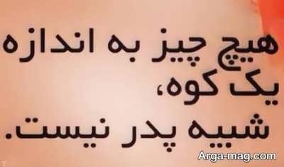 Nab sentences about father 3 - جملات ناب درباره پدر برای مناسبت های مختلف