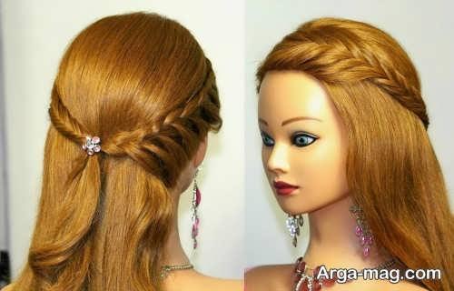 مدل آرایش موی دخترانه