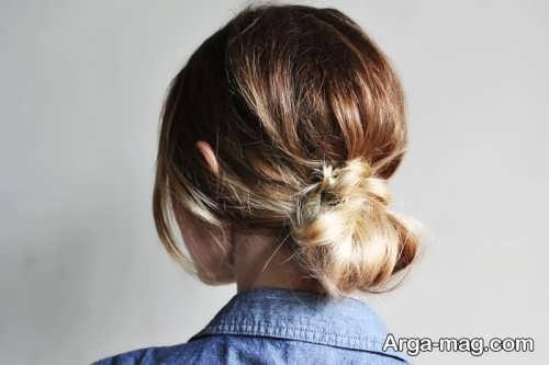 مدل آرایش موی شیک و بسته