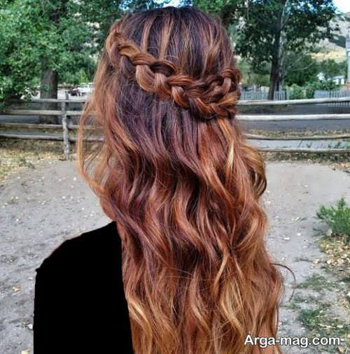 New hairstyles for girls 21 - آرایش موی جدید دخترانه مخصوص مهمانی های مهم