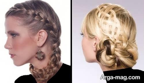 New hairstyles for girls 25 - آرایش موی جدید دخترانه مخصوص مهمانی های مهم