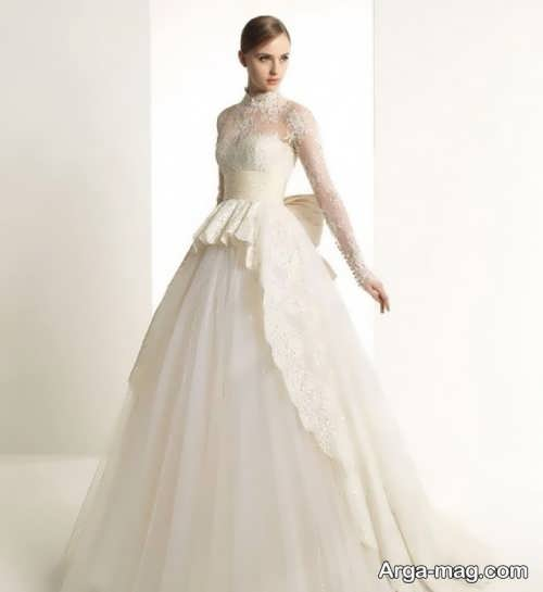 مدل لباس عروس شیک و متفاوت