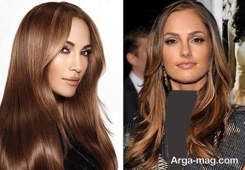 Nut hair color 05 - برای تهیه رنگ موی گردویی از چه فرمولی استفاده کنیم؟