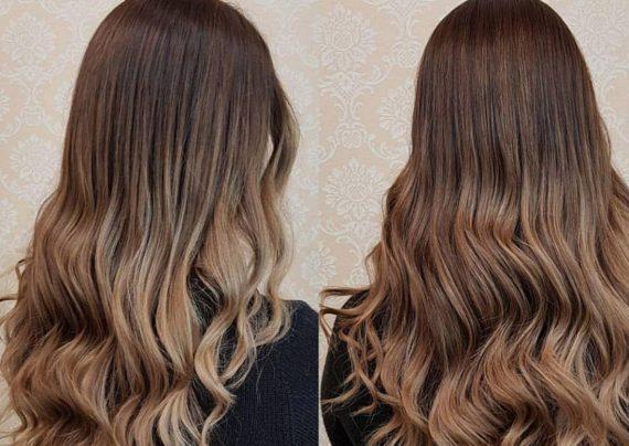 رنگ موی گردویی