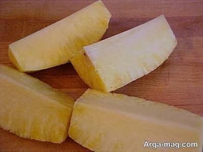 برش آناناس