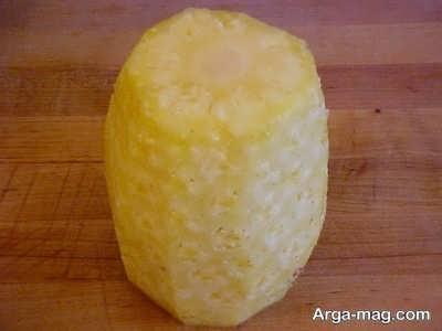 پوست کندن آناناس
