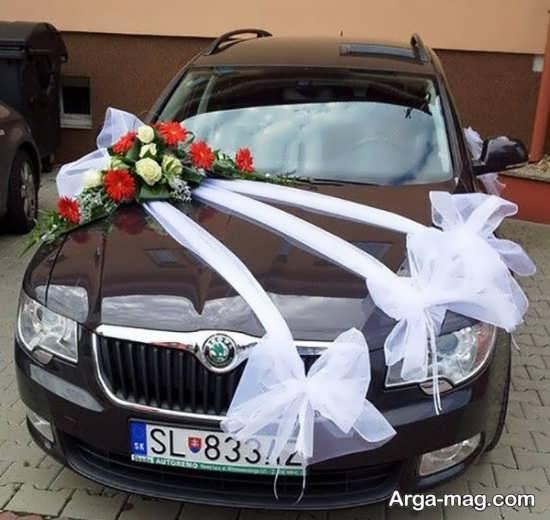 تزیین جذاب ماشین عروس
