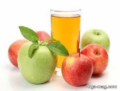 ارزش غذایی آب سیب
