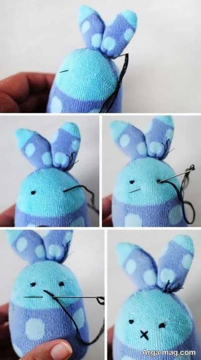 خرگوش با جوراب