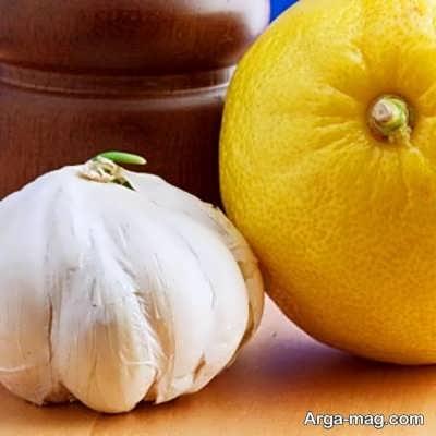 مصرف لیموترش در کم کردن بوی سیر