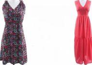مدل لباس کوتاه با پارچه ریون