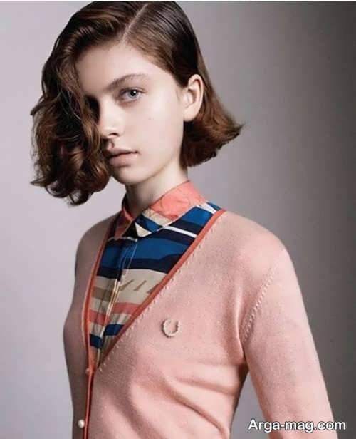 Short hairstyle for girls 10 - انواع مدل موهای کوتاه دخترانه جدید که امسال مد می شوند