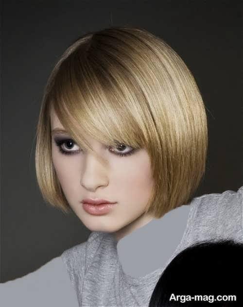 Short hairstyle for girls 11 - انواع مدل موهای کوتاه دخترانه جدید که امسال مد می شوند