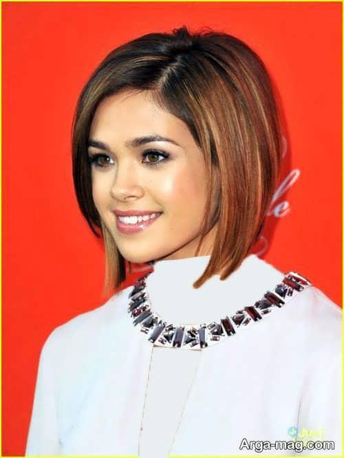 مدل موی کوتاه و زیبا دخترانه