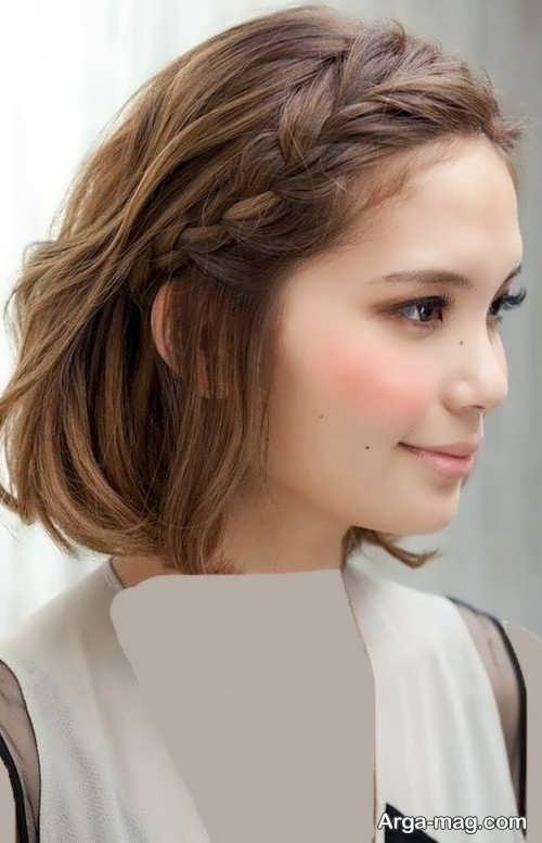Short hairstyle for girls 20 - انواع مدل موهای کوتاه دخترانه جدید که امسال مد می شوند