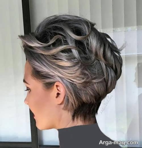 Short hairstyle for girls 21 - انواع مدل موهای کوتاه دخترانه جدید که امسال مد می شوند