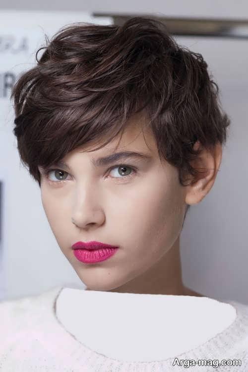 Short hairstyle for girls 23 - انواع مدل موهای کوتاه دخترانه جدید که امسال مد می شوند