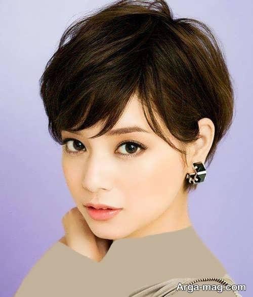 Short hairstyle for girls 25 - انواع مدل موهای کوتاه دخترانه جدید که امسال مد می شوند