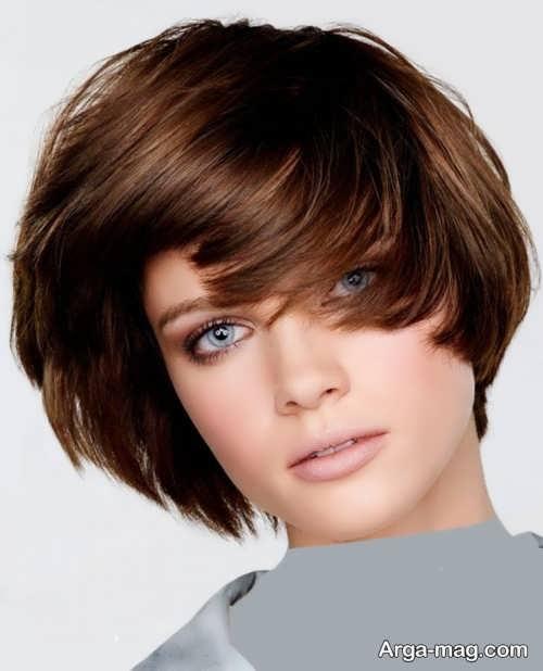 Short hairstyle for girls 26 - انواع مدل موهای کوتاه دخترانه جدید که امسال مد می شوند