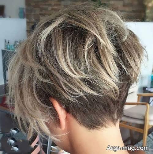 Short hairstyle for girls 27 - انواع مدل موهای کوتاه دخترانه جدید که امسال مد می شوند