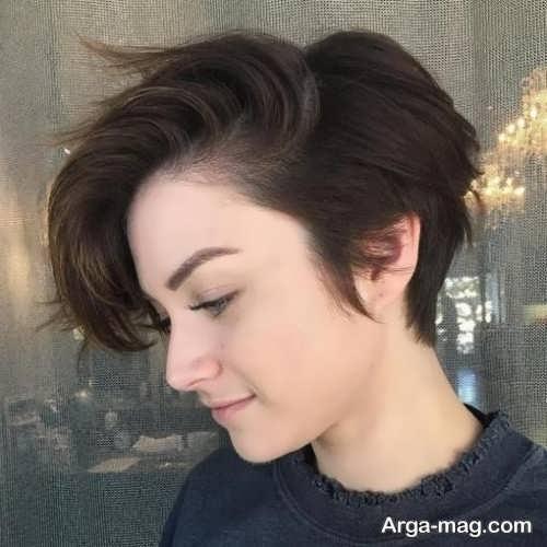 Short hairstyle for girls 6 - انواع مدل موهای کوتاه دخترانه جدید که امسال مد می شوند