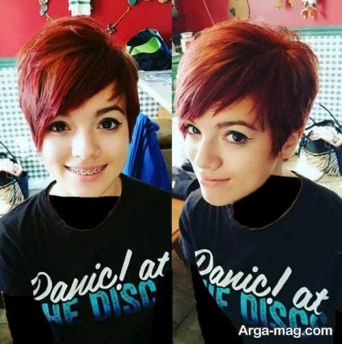 Short hairstyle for girls 9 - انواع مدل موهای کوتاه دخترانه جدید که امسال مد می شوند