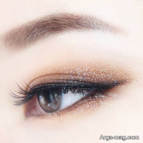 آرایش چشم دخترانه ساده