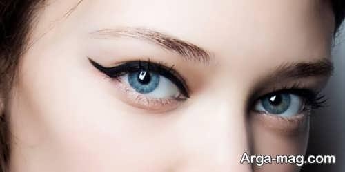 مدل آرایش چشم شیک دخترانه