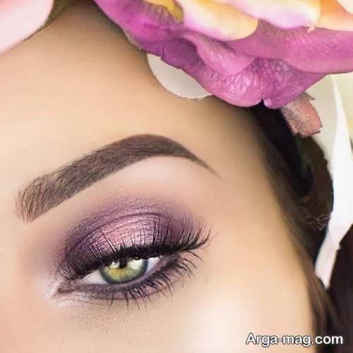 مدل آرایش چشم جدید و زیبا