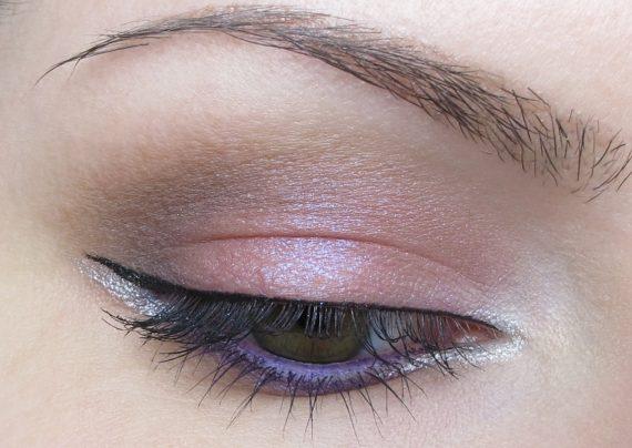 مدل آرایش چشم دخترانه ساده
