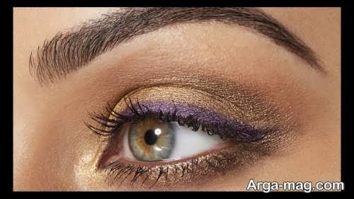 مدل آرایش چشم جدید دخترانه