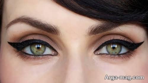 خط چشم گربه ای جالب