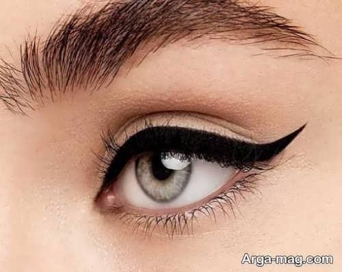 خط چشم گربه ای قشنگ