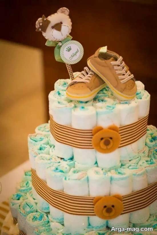 تزیین خاص کیک سیسمونی